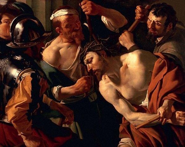 le calvaire du christe jesus.